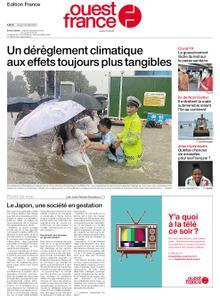 Ouest-France Édition France – 22 juillet 2021