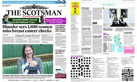 The Scotsman – September 14, 2018