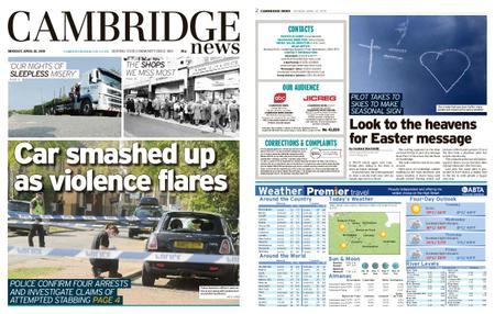 Cambridge News – April 22, 2019