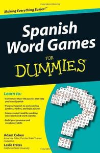 Spanish Word Games For Dummies (Repost)