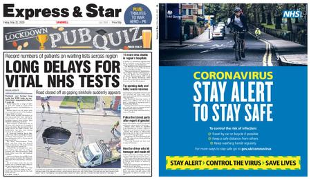 Express and Star Sandwell Edition – May 22, 2020