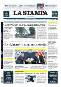 La Stampa Torino Provincia e Canavese - 14 Agosto 2020