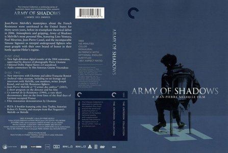 Army of Shadows (1969) [The Criterion Collection #385]
