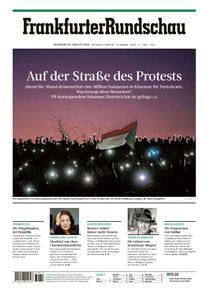 Frankfurter Rundschau Stadtausgabe - 24. April 2019