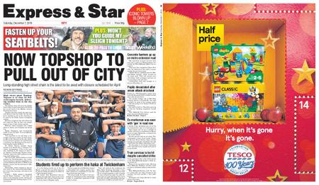 Express and Star City Edition – December 07, 2019