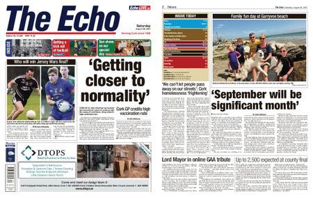 Evening Echo – August 28, 2021