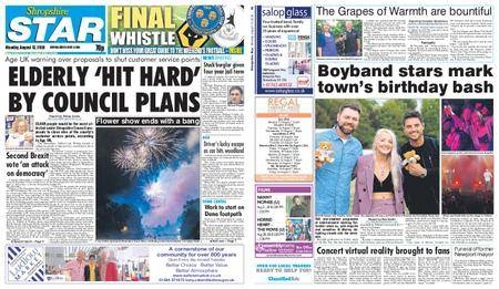Shropshire Star Shrewsbury Edition – August 13, 2018