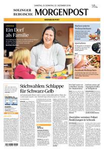 Solinger Morgenpost – 21. Dezember 2019