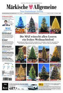 Neue Oranienburger Zeitung - 23. Dezember 2017