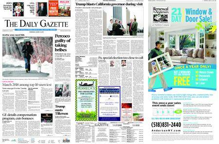The Daily Gazette – March 14, 2018