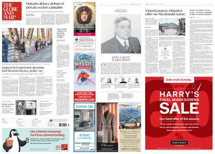 The Globe and Mail – August 14, 2018
