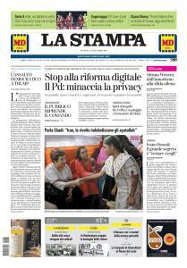 La Stampa Torino Provincia e Canavese - 22 Dicembre 2019