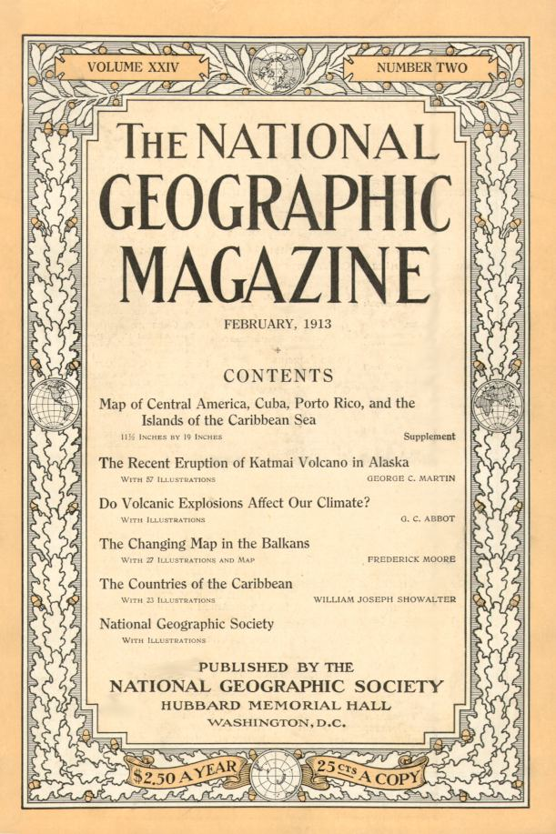 National Geographic Feb 1913