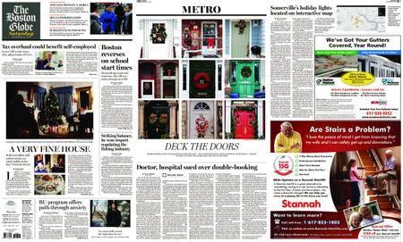 The Boston Globe – December 23, 2017