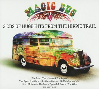 VA - Magic Bus: Of Huge Hits From The Hippie Trail (2015) {3CD Box Set}