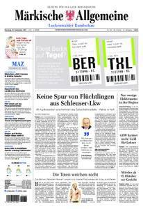 Märkische Allgemeine Luckenwalder Rundschau - 19. September 2017