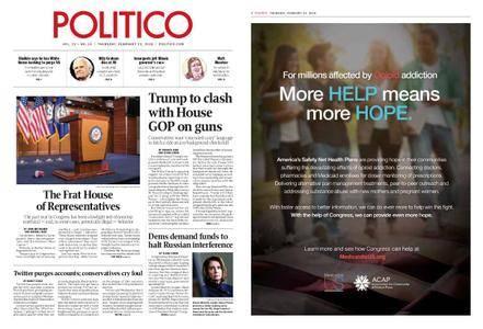 Politico – February 22, 2018