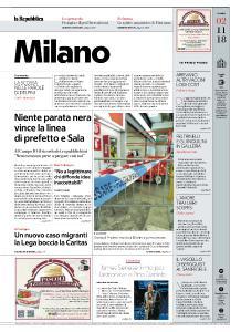 la Repubblica Milano - 2 Novembre 2018