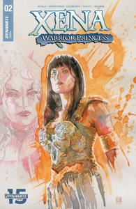 Xena-Warrior Princess 002 2019 3 covers Digital DR & Quinch