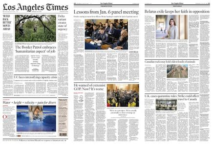 Los Angeles Times – July 29, 2021