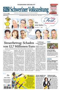 Schweriner Volkszeitung Hagenower Kreisblatt - 27. April 2019