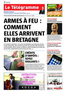 Le Télégramme Brest – 25 octobre 2019