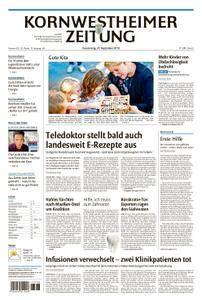 Kornwestheimer Zeitung - 20. September 2018