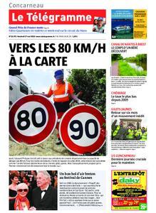 Le Télégramme Concarneau – 17 mai 2019