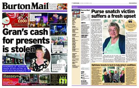 Burton Mail – November 26, 2018