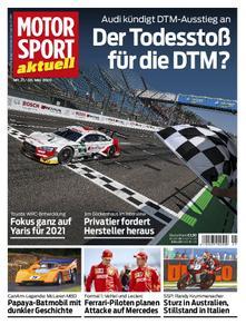 Motorsport Aktuell – 05. Mai 2020
