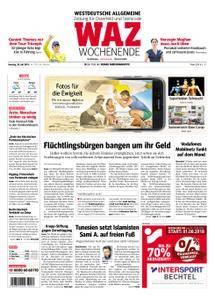 WAZ Westdeutsche Allgemeine Zeitung Oberhausen-Sterkrade - 28. Juli 2018