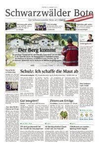 Schwarzwälder Bote Blumberg - 25. August 2017