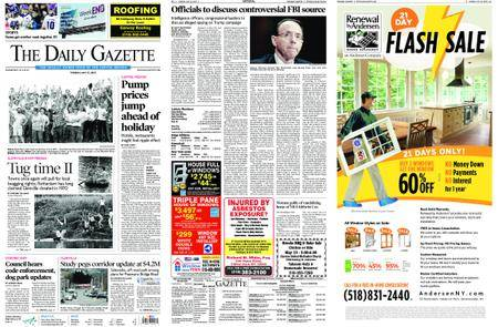 The Daily Gazette – May 22, 2018