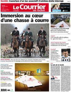 Le Courrier de l'Ouest Angers - 03 février 2018