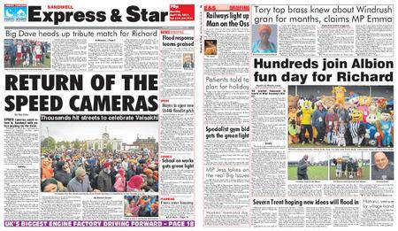 Express and Star Sandwell Edition – April 30, 2018