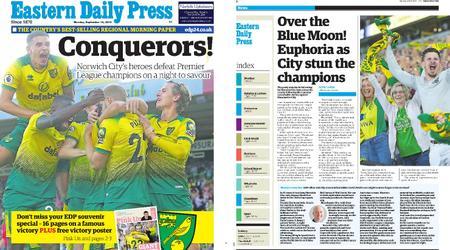 Eastern Daily Press – September 16, 2019