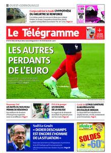 Le Télégramme Ouest Cornouaille – 30 juin 2021