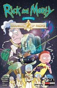 Better late then never ;) - File 1 of 1 - yEnc Rick and Morty Presents The Council of Ricks 001 (2020) (Digital) (Kidd Video-R