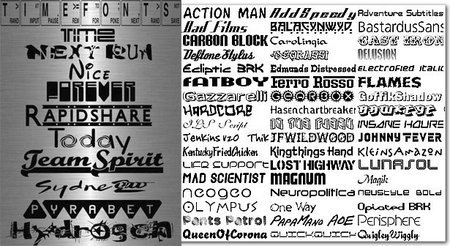 10000 Very Rare and Best Fonts Collection
