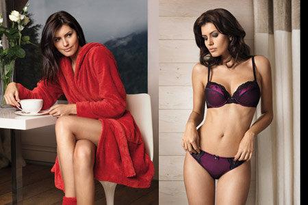 Brenda Costa - Palmers FW2009 lingerie