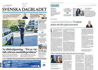 Svenska Dagbladet – 29 augusti 2019