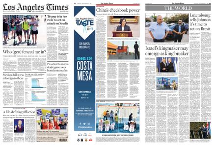 Los Angeles Times – September 17, 2019