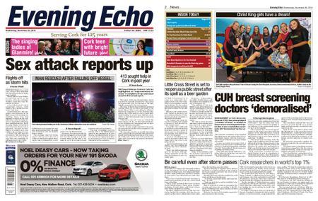 Evening Echo – November 28, 2018
