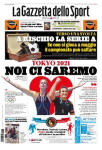 La Gazzetta dello Sport – 25 marzo 2020