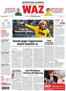 WAZ Westdeutsche Allgemeine Zeitung Oberhausen-Sterkrade - 21. Mai 2019