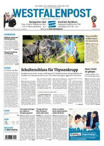 Westfalenpost Wetter - 10. Juli 2018