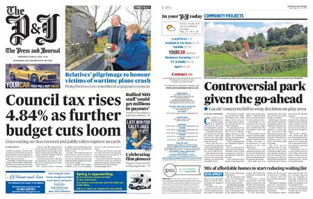 The Press and Journal Moray – March 04, 2020
