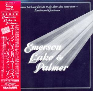 Emerson Lake & Palmer: Collection (1970-1994) [15 SHM-CD, 2010, Japan]