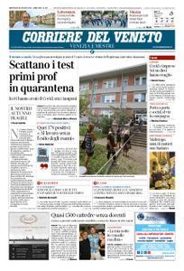 Corriere del Veneto Venezia e Mestre – 26 agosto 2020