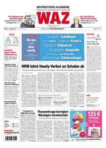 WAZ Westdeutsche Allgemeine Zeitung Oberhausen-Sterkrade - 01. August 2018